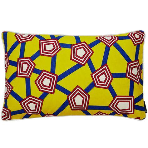 Hay Cuscini.Cushion 57 X 35 Cm Penta By Nathalie Du Pasquier Cuscini Tessili