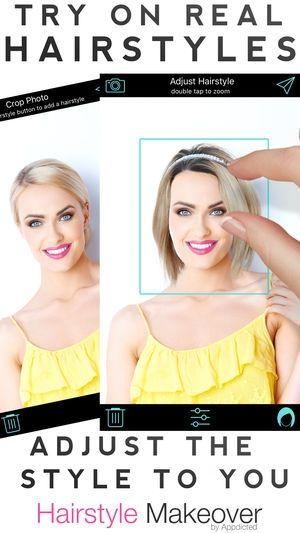 Weibliche Frisur App Frisuren Ausprobieren Weibliche Frisuren Frisuren