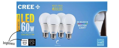 The Best Led Light Bulbs We Ve Found For The Entire House Bulb Led Light Bulb