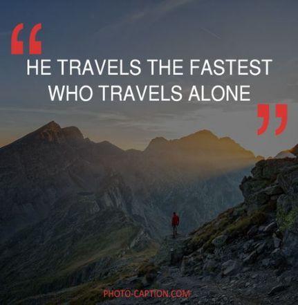 22 Ideas travel alone quotes nature travel quotes