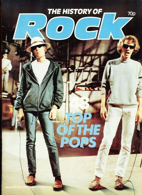 The History of Rock TOP OF THE POPS Vol.4 ISSUE 48Pages 941-960 ORBIS,In good condition for age.  Name written on cover. This magazine is pre-owned and may have minor scuffs to covers and edges. Evidence of handling. Please see full description and photo for condition report. Feel free to ask any questions., #HistoryofRockMagazines