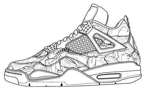 jay z nike shoes elephant mandala coloring sheet 873673