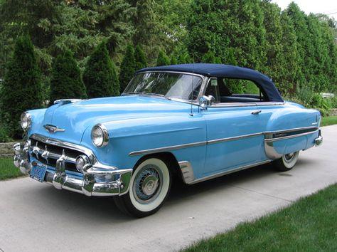 1953 Chevrolet Bel Air Convertible.