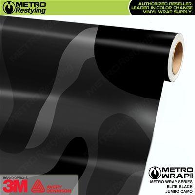 Forged Black Composite Carbon Vinyl Wrap