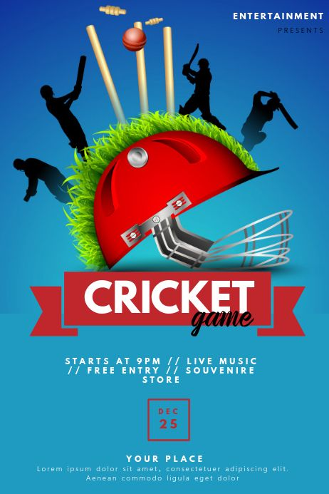 Cricket Flyer Free Download