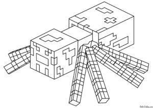 Minecraft Boyama Sayfalari Minecraft Oyun Dunyasi