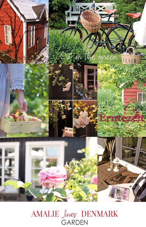 Amalie Loves Denmark Garden Bilder Landhausstil Garten