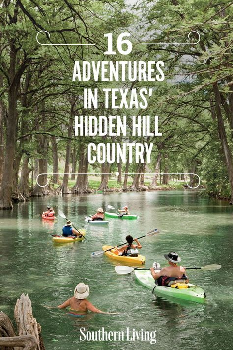 Here's our guide to off-the-beaten-path adventures found deep in the heart of Texas. 16 Adventures in Texas' Hidden Hill Country Texas Vacation Spots, Texas Vacations, Texas Roadtrip, Texas Travel, Vacation Places, Travel Usa, Places To Travel, Hiking In Texas, Travel Info
