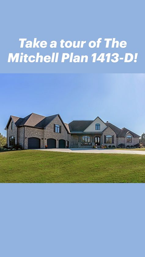 Take a tour of The Mitchell Plan 1413-D!