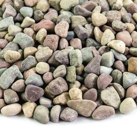 Patio Garden Landscaping With Rocks Rock Pebbles Pebble