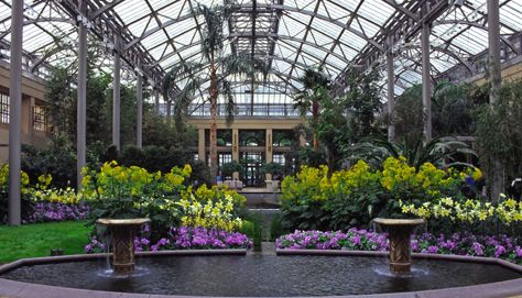 Longwood Gardens Conservarory The State Of The Art East Conservatory Opened  October 2005 After Three Years Of Renovations. The Greenhouse Was  Originally ...