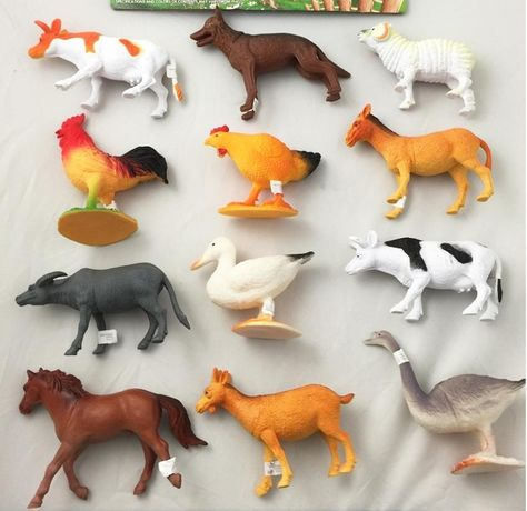 Simulation PVC Wild /& Nature Animal Model Figures Party Favors Trick Toy Playset