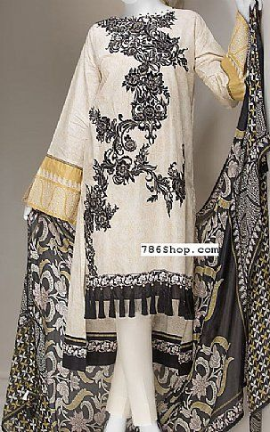 Ivory Black Lawn Suit Buy Junaid Jamshed Pakistani Dresses And Clothing Online In Usa Uk Lawn Suits Pakistani Lawn Suits Clothes