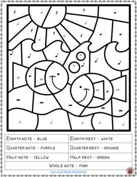 Music Coloring Pages 15 Ocean Themed Music Coloring Sheets Music Coloring Sheets Music Coloring Music Theory Worksheets