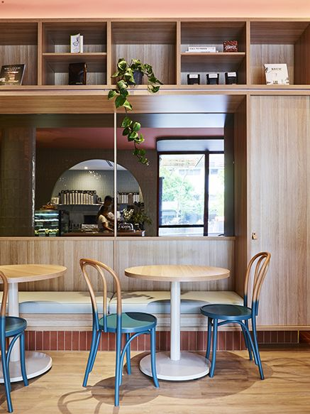 SJB | The UNSW Bookshop | F&B in 2019 | Shop front design