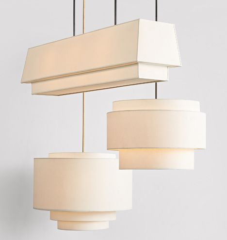 30 Tiered Drum Pendant In 2020 Drum Pendant Lighting Pendant
