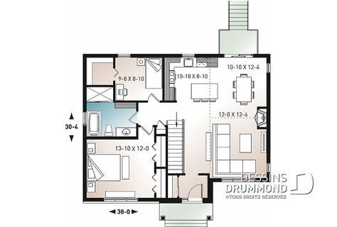 Plan De Maison Unifamiliale Barrington No 3153 Maison En