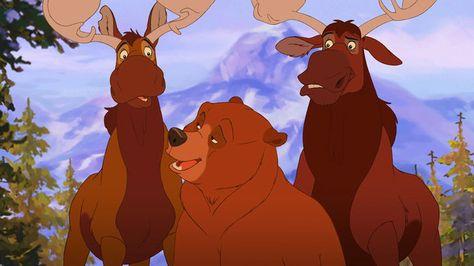 Disney S Brother Bear 2 Bj Movie Brother Bear Kenai Brother