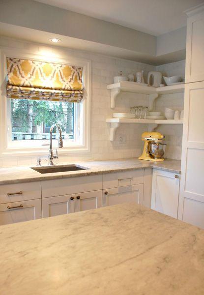 Kitchen Yellow Grey Roman Shades For 2019 Kitchen Soffit Yellow