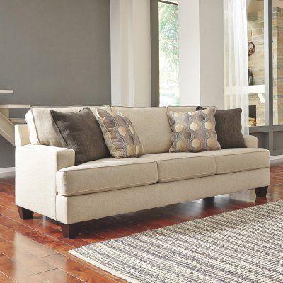 Benchcraft Brielyn Queen Sofa Sleeper 6140239 Queen Sofa Sleeper Linen Sofa Sofa