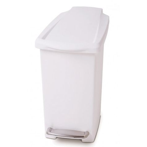 Simplehuman Plastic 10 Litre Step On Rubbish Bin Simplehuman Rubbish Bin Plastic Bins