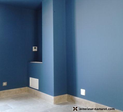 Peinture Bleu Vendme  Peinture cologique Et Badigeon De Chaux
