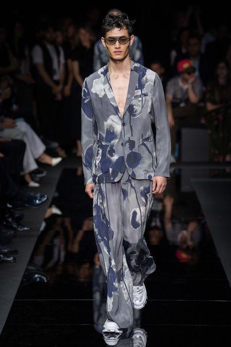 Emporio Armani Spring 2020 Menswear Fashion Show - Vogue