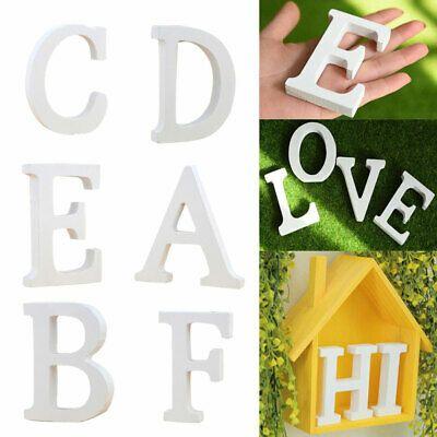 Hk Wooden English Letters Alphabet Symbol Ornament Wedding Party Diy Decoration Fashion Home Garden In 2020 Diy Decor Crafts Diy Party Decorations Shop Decoration