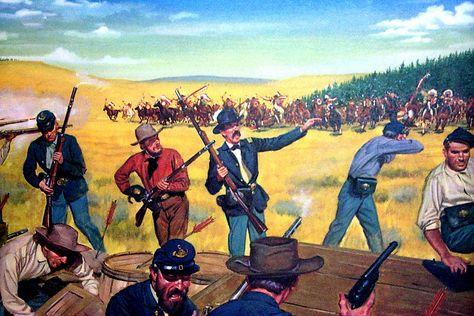 Wagon Box Fight - Wikipedia