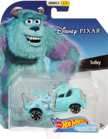 Hot Wheels Disney Pixar Character Car Sully Vehicle Walmart Canada Hot Wheels Disney Pixar Characters Hot Wheels Toys