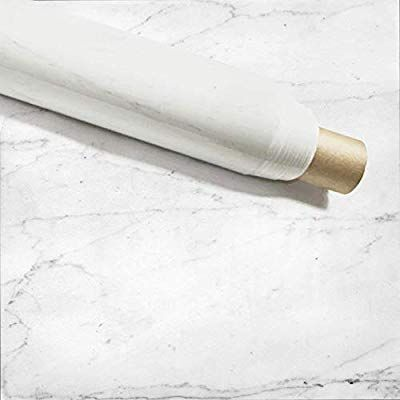 Amazon Com Instant Granite Italian White Marble Tile Film 3 X 15 Self Adhesive Vinyl Laminate Counter Top Con In 2020 Instant Granite Marble Countertops Countertops