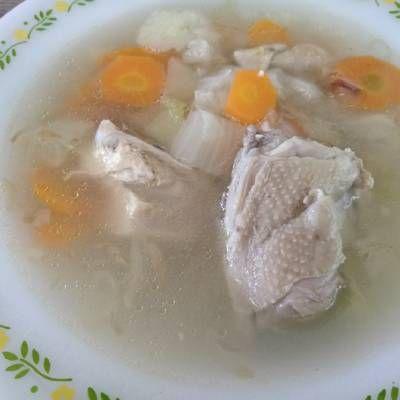 Sop Ayam Ala Pak Min Klaten Makanan Dan Minuman Resep Resep Masakan