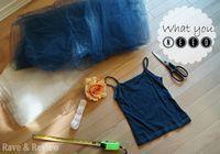Photo of DIY no sew Tutu flower girl dress