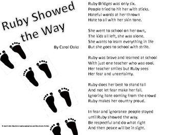 29 best Ruby Bridges images on Pinterest | Black history month ...
