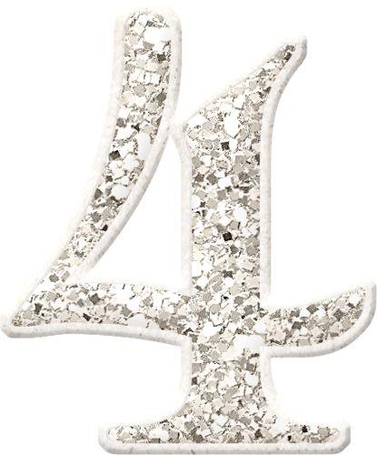 Bello Alfabeto en Glitter.