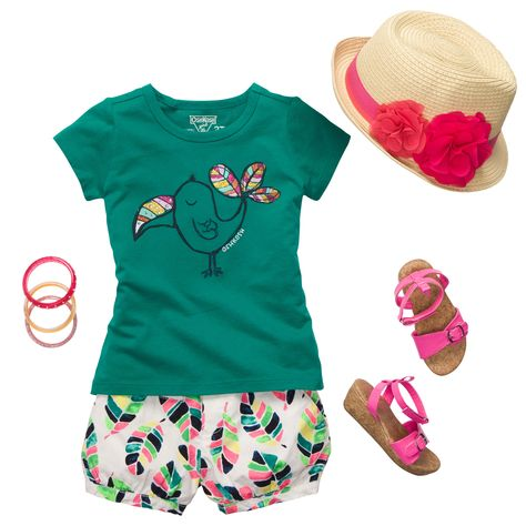 Totally Toucan Sam | Baby Girl Outfits