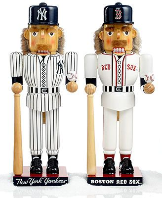Kurt Adler Nutcrackers, MLB Collection - Christmas Decorations - Holiday Lane - Macy's These would be awesome as cub cardinals!