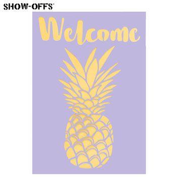 Welcome Pineapple Stencil Hobby Lobby 1623990 Stencil Crafts Stencils Handmade Signs
