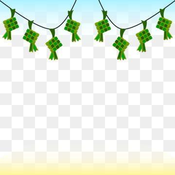 Ketupat Food Frame Border Idul Fitri Eid Eid Al Fitr Eid Mubarak Eid Fitri Islamic Cele Islamic Celebrations Watercolor Flower Illustration Flower Illustration