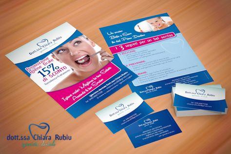 Dott.ssa Chiara Rubiu - Igienista dentale [promotional design]