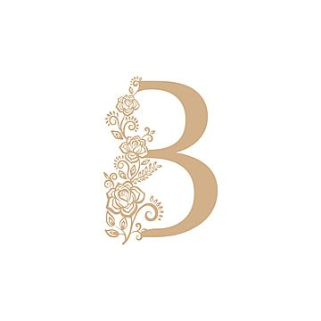 Letter B With Ornament Letter Icons Logo Letter Png And Vector With Transparent Background For Free Download Letter Icon Pink Pattern Background Letter B