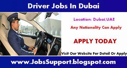 Latest Driver Jobs Vacancies In Dubai Driver Job Job Dubai
