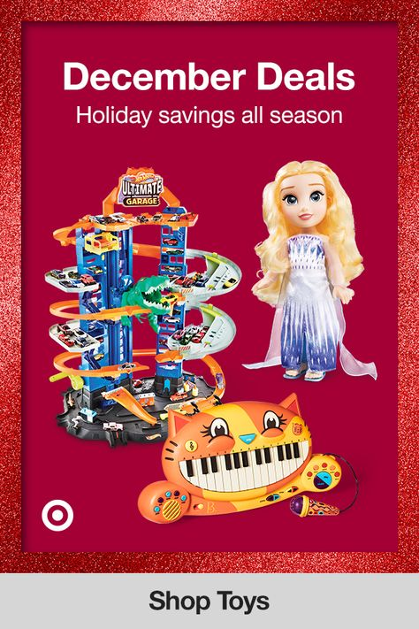 It's holiday sale season! Get deals on top toys, creative gift ideas  Christmas gifts for boys, girls  teachers to give them a fun surprise.