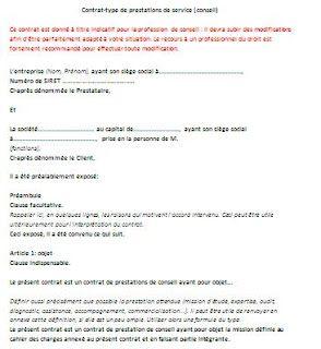 Rapport De Stage Et Fin Etudes Modele De Contrat Modele Contrat De Travail Exemple De Contrat