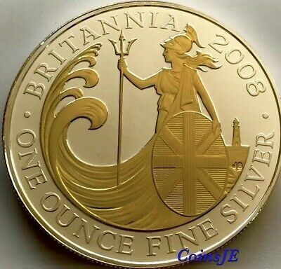 2008 Great Britain 1 Oz 2 Pounds Britannia Gilded Gilded Edition Silver Coin Ebay In 2020 Silver Coins Silver Coins For Sale Buy Silver Coins
