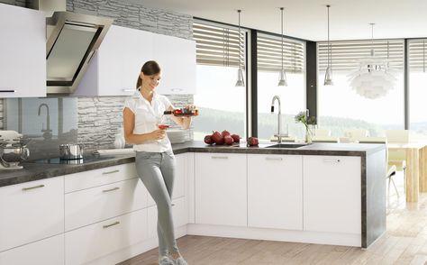 Fresh GLAS TEC PLUS Glasklare Linien Und ein wenig Extravaganz noltegroup Nolte K chen Pinterest Kitchen living rooms and Living rooms