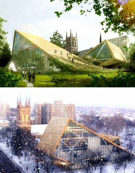 Walkability Green Roofs In Cities Green Roof Green Roof System Roof Design