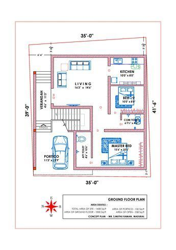 West Facing Vastu 1 2bhk House Plan House Plans With Pictures Indian House Plans