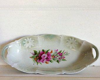 Germany Porcelain Vintage Relish Dish