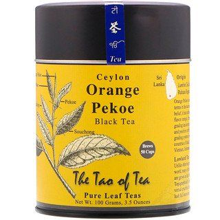 The Tao Of Tea Ceylon Black Tea Orange Pekoe 3 5 Oz 100 G In 2020 Orange Pekoe Tea Pure Leaf Tea Black Tea Leaves